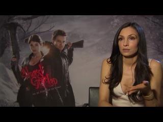 2013. Hexenjäger-Plausch - Jeremy Renner & Gemma Arterton Interview